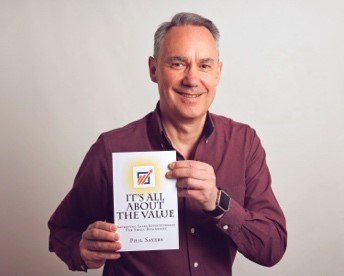 Phil Sayers, author of It's All About The Value.